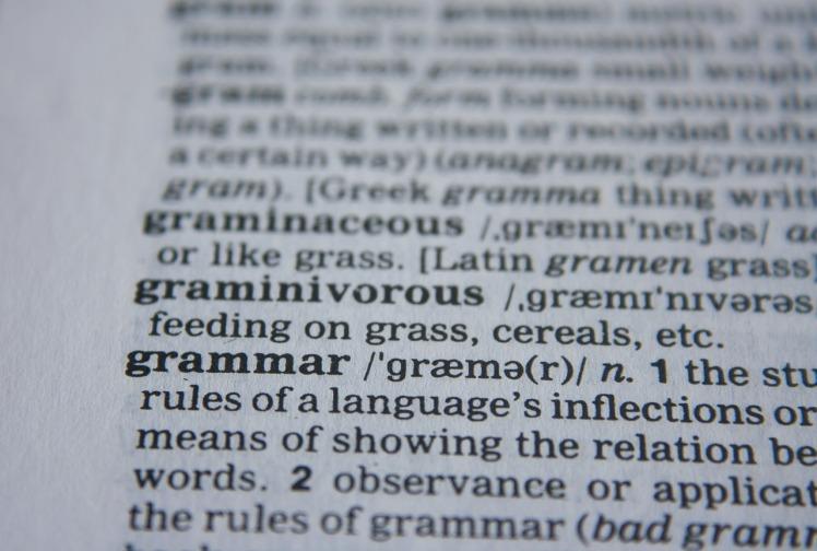 http://pixabay.com/en/grammar-abc-dictionary-words-390029/