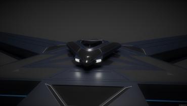 Spaceship Platform Front