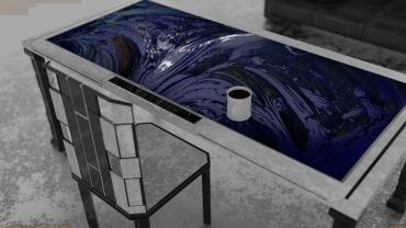 Abstract Desk