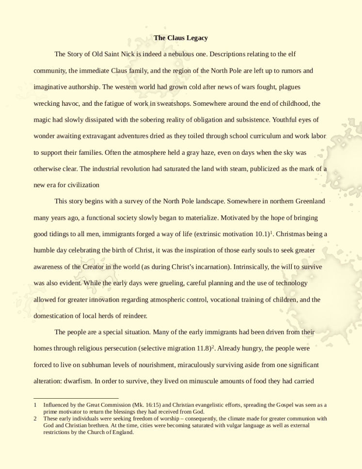 The Claus legacy - no highlighting_pg1